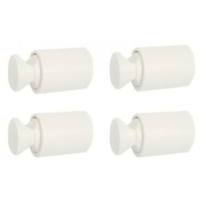 Fissaggi per termoarredo aton bianco bianco