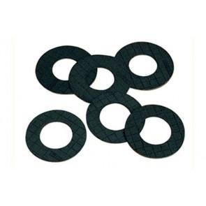 Guarnizione per flangia in gomma nera pn 10-16 mm 2 diam. 80
