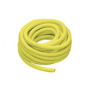 Tubo guaina gialla per protezione tubi gas diam. 25
