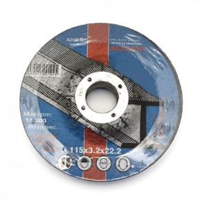 Dischi abrasivi per ferro mm 115 x sp. 1.6
