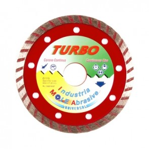 Disco diamantato turbo hobby diam. 115 mm