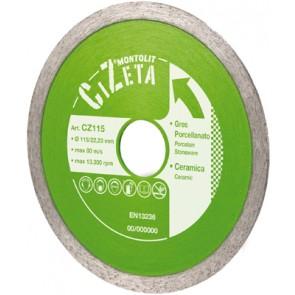 Disco cermont per gres porcellanato-ceramica mm 115