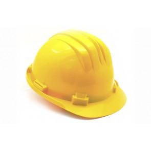 Elmetto di protezione giallo giallo