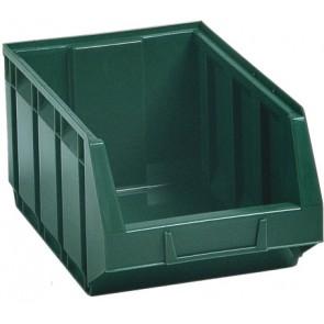 Contenitore in plastica bull 4 - mm 406x345x h164 verde lxpxh mm 406x345x164