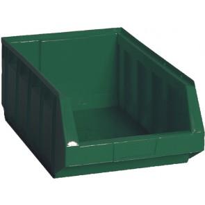 Contenitore in plastica bull 5 - mm 298x485x h189 verde lxpxh mm 298x485x189