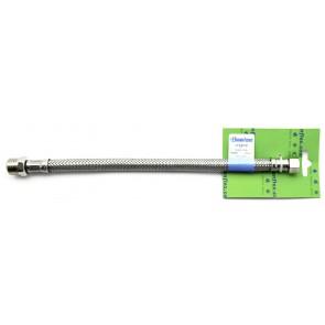 Flessibile inox modello normale cm 30 s-brico mf 3/8 x 3/8