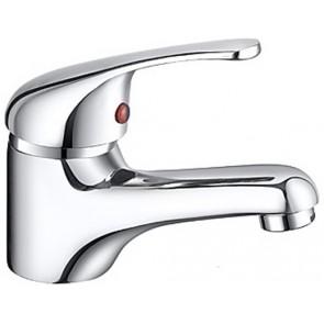 Monocomando lavabo serie delfina cromo