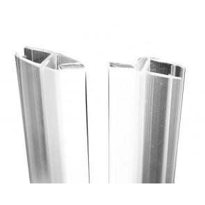 Coppia guarnizione chiusura magnetica per porta linea essential lunghezza cm 190