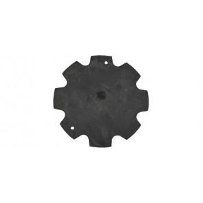 Membrana per scaldini vailant 5-10 lt. mod. 2 fori d.80 diam. 80